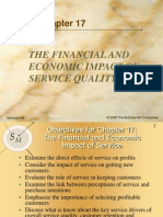 Financial and Econimic Impact of Services