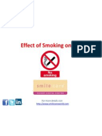 Effect of Smoking on Gums