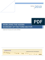Mobilising the Hidden Economy of the Third Sector