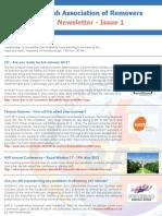 BAR Newsletter - Issue 1