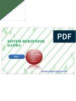 SISTEM BERSENSOR GANDA (Sistem Multi Sensor)