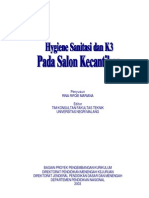 52130799 Hygiene Sanitasi Dan k3 Pada Salon Kecantikan