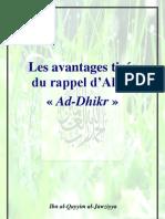 43 Avantages Et Vertus Du Dhikr, Ibn Al Qayyim