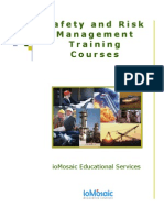 Training 2002 Brochure
