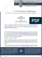 An Overview of Corruption in Afghanistan