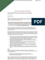 Advanced Failure Analysis Methodologies and Techniques