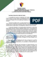 Pedagogia Lasallista en El Nuevo Milenio. La Pastoral Educativa Tarea de Todos.