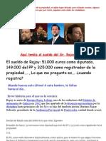 Rajoy, Registrador de La Propiedad