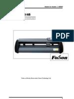 Foison Serie C- L ( laser) Manual do Usuario (Português)