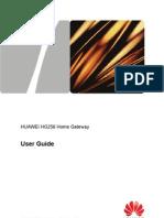 Huawei Hg256 User Guide