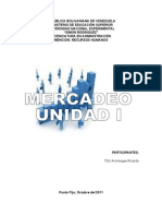 UNIDAD I MERCADEO