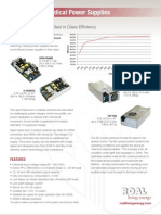 MDP400 Open-Frame and U-Chassis :
