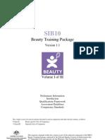 V1.1-SIB10 Beauty Training Package_Volume 1
