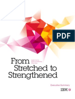 """From Stretched to Strengthened -- Insights from the Global Chief Marketing Officer Study."" Executive Summary"