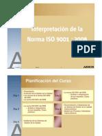 Interpretación ISO 9001 Q01-E
