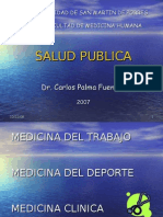 Clase 3 - Medicina Del Trabajo, Deporte y Clinica
