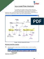 Etap Load Flow Analysis