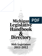 Michigan Legislative Handbook & Directory