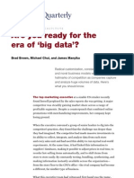 Are you ready for the era of 'big data'