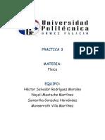 Fisica - Practica3