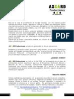 Carta de Presentacin ASGARD Pro