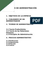 APUNTES ADMINISTRACIÓN