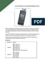 Hi 9835 Medidor Portatil de Ce