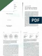 Liberman1994_Ch12_Evolution of Human Speech-The Fossil Record