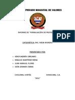 Informe Final de Proyectos
