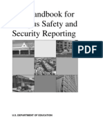 Clery Act Handbook 2011 - The Handbook for Campus Safety and Security Reporting