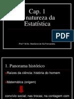 Cap. 1 - A natureza da estatística