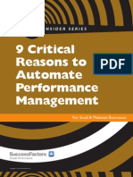 Performance Managment