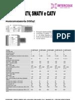 Catálogo Sistemas MATV, SMATV e CATV