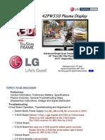Lg 42pw35 - Training Manual