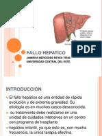 FALLO HEPATICO