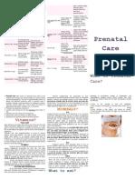 Handout.prenatal