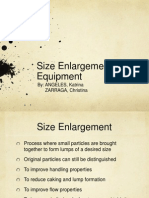 Size Enlargement Equipment