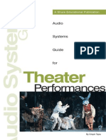 Audio Systems Guide for Theater Performances