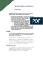 Understanding Disk Device Files