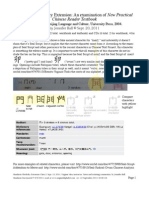 Mandarin Textbook False Seal Script