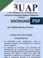 CLASE DEL ORIGEN DE LA SOCIOLOGÍA 1