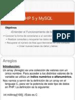PHP 5 y MySQL