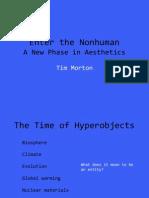 Enter the Nonhuman