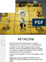 Presentation on Computer in Retailing