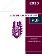 GUÍA CARRERAS NIVEL SUPERIOR IPN 2010