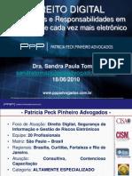 Palestra Direito Digital - Dra. Sandra Tomazi