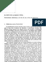Theodor Adorno y Otros - La Disputa Del Positivismo en La Sociologia Alemana -- Pp