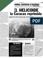 HELICOIDE la Caracas reprimida