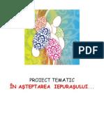 Proiect Tematic in a Iepurasului