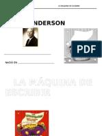 ficha de leroy anderson_máquina de escribir